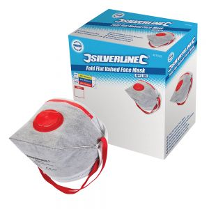 Ventilated Dust Mask FFP3 With Valve (25 pack)